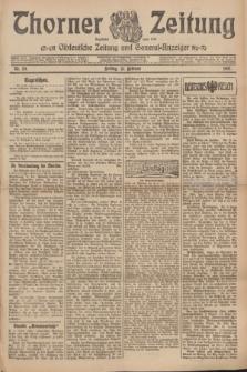 Thorner Zeitung : Ostdeutsche Zeitung und General-Anzeiger. 1907, Nr. 39 (15 Februar) + dodatek