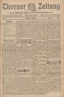 Thorner Zeitung : Ostdeutsche Zeitung und General-Anzeiger. 1907, Nr. 41 (17 Februar) - Erstes Blatt + dod.