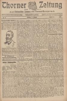 Thorner Zeitung : Ostdeutsche Zeitung und General-Anzeiger. 1907, Nr. 41 (17 Februar) - Zweites Blatt