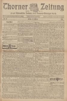 Thorner Zeitung : Ostdeutsche Zeitung und General-Anzeiger. 1907, Nr. 45 (22 Februar) + dod.