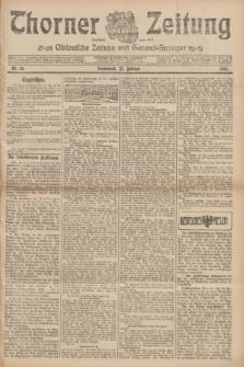 Thorner Zeitung : Ostdeutsche Zeitung und General-Anzeiger. 1907, Nr. 46 (23 Februar) + dod.