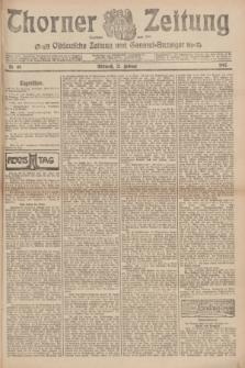 Thorner Zeitung : Ostdeutsche Zeitung und General-Anzeiger. 1907, Nr. 49 (27 Februar) + dodatek