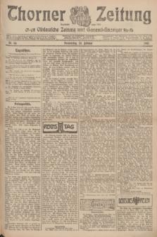 Thorner Zeitung : Ostdeutsche Zeitung und General-Anzeiger. 1907, Nr. 50 (28 Februar) + dod.