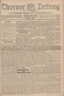 Thorner Zeitung : Ostdeutsche Zeitung und General-Anzeiger. 1907, Nr. 51 (1 März) + dod.