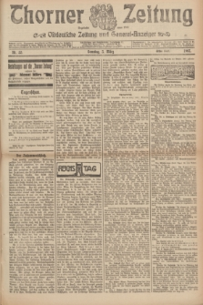Thorner Zeitung : Ostdeutsche Zeitung und General-Anzeiger. 1907, Nr. 53 (3 März) - Erstes Blatt + dod.