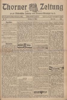 Thorner Zeitung : Ostdeutsche Zeitung und General-Anzeiger. 1907, Nr. 59 (10 März) - Erstes Blatt + dod.