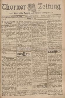 Thorner Zeitung : Ostdeutsche Zeitung und General-Anzeiger. 1907, Nr. 65 (17 März) - Erstes Blatt + dod.