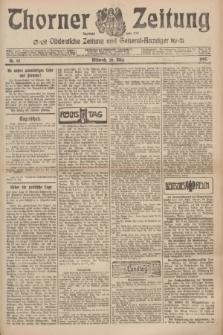Thorner Zeitung : Ostdeutsche Zeitung und General-Anzeiger. 1907, Nr. 67 (20 Marz) + dodatek