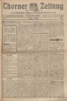Thorner Zeitung : Ostdeutsche Zeitung und General-Anzeiger. 1907, Nr. 75 (29 Marz) + dodatek