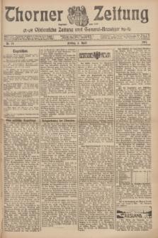 Thorner Zeitung : Ostdeutsche Zeitung und General-Anzeiger. 1907, Nr. 79 (5 April) + dod.
