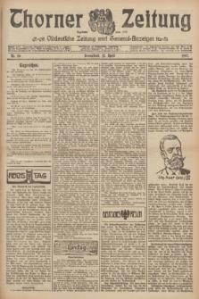 Thorner Zeitung : Ostdeutsche Zeitung und General-Anzeiger. 1907, Nr. 86 (13 April) + dod.
