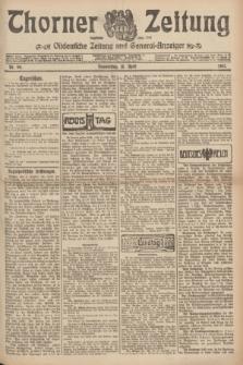Thorner Zeitung : Ostdeutsche Zeitung und General-Anzeiger. 1907, Nr. 90 (18 April) + dod.