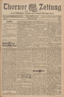 Thorner Zeitung : Ostdeutsche Zeitung und General-Anzeiger. 1907, Nr. 94 (23 April) + dod.