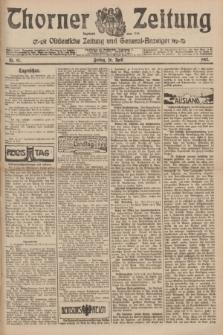 Thorner Zeitung : Ostdeutsche Zeitung und General-Anzeiger. 1907, Nr. 97 (26 April) + dod.
