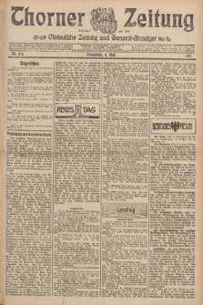 Thorner Zeitung : Ostdeutsche Zeitung und General-Anzeiger. 1907, Nr. 104 (4 Mai) + dod.