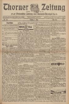 Thorner Zeitung : Ostdeutsche Zeitung und General-Anzeiger. 1907, Nr. 105 (5 Mai) - Erstes Blatt + dod.
