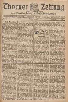 Thorner Zeitung : Ostdeutsche Zeitung und General-Anzeiger. 1907, Nr. 105 (5 Mai) - Zweites Blatt