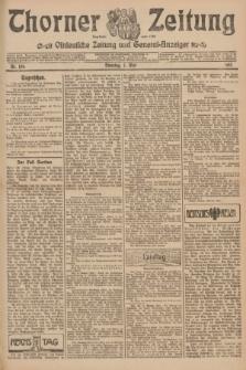 Thorner Zeitung : Ostdeutsche Zeitung und General-Anzeiger. 1907, Nr. 106 (7 Mai) + dod.