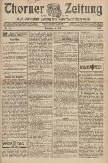 Thorner Zeitung : Ostdeutsche Zeitung und General-Anzeiger. 1907, Nr. 108 (9 Mai) + dod.