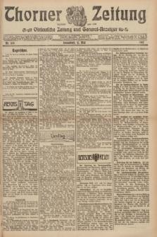 Thorner Zeitung : Ostdeutsche Zeitung und General-Anzeiger. 1907, Nr. 109 (11 Mai) + dod.