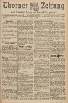 Thorner Zeitung : Ostdeutsche Zeitung und General-Anzeiger. 1907, Nr. 110 (12 Mai) - Erstes Blatt + dod.