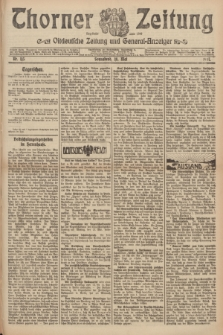 Thorner Zeitung : Ostdeutsche Zeitung und General-Anzeiger. 1907, Nr. 115 (18 Mai) + dod.