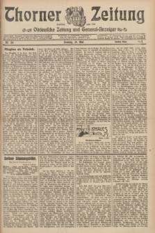 Thorner Zeitung : Ostdeutsche Zeitung und General-Anzeiger. 1907, Nr. 116 (19 Mai) - Zweites Blatt