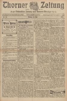 Thorner Zeitung : Ostdeutsche Zeitung und General-Anzeiger. 1907, Nr. 122 (28 Mai) + dod.
