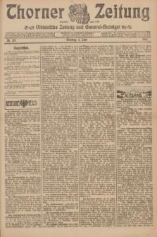 Thorner Zeitung : Ostdeutsche Zeitung und General-Anzeiger. 1907, Nr. 128 (4 Juni) + dod.