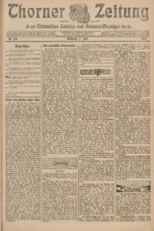 Thorner Zeitung : Ostdeutsche Zeitung und General-Anzeiger. 1907, Nr. 129 (5 Juni) + dod.
