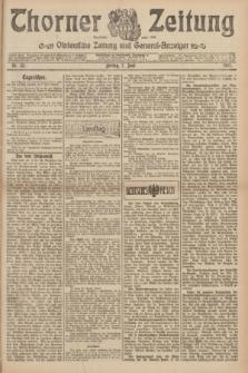 Thorner Zeitung : Ostdeutsche Zeitung und General-Anzeiger. 1907, Nr. 131 (7 Juni) + dod.