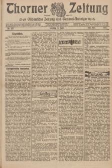 Thorner Zeitung : Ostdeutsche Zeitung und General-Anzeiger. 1907, Nr. 133 (9 Juni) - Erstes Blatt + dod.