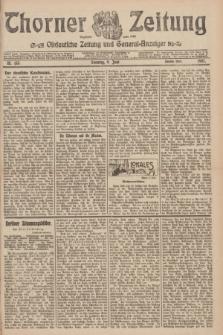 Thorner Zeitung : Ostdeutsche Zeitung und General-Anzeiger. 1907, Nr. 133 (9 Juni) - Zweites Blatt