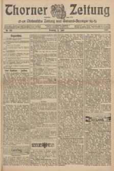 Thorner Zeitung : Ostdeutsche Zeitung und General-Anzeiger. 1907, Nr. 134 (11 Juni) + dod.