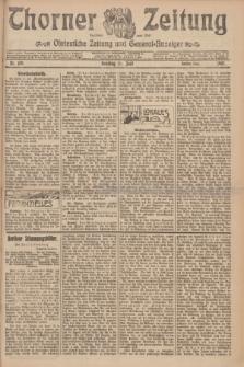 Thorner Zeitung : Ostdeutsche Zeitung und General-Anzeiger. 1907, Nr. 139 (16 Juni) - Zweites Blatt