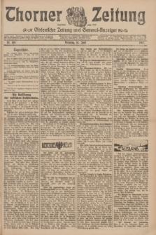 Thorner Zeitung : Ostdeutsche Zeitung und General-Anzeiger. 1907, Nr. 140 (18 Juni) + dod.