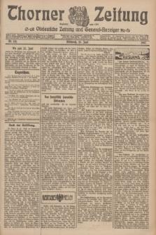 Thorner Zeitung : Ostdeutsche Zeitung und General-Anzeiger. 1907, Nr. 141 (19 Juni) + dod.