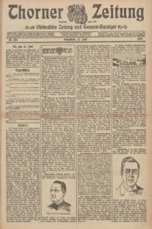 Thorner Zeitung : Ostdeutsche Zeitung und General-Anzeiger. 1907, Nr. 144 (22 Juni) + dod.