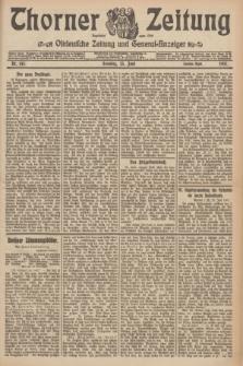 Thorner Zeitung : Ostdeutsche Zeitung und General-Anzeiger. 1907, Nr. 145 (23 Juni) - Zweites Blatt