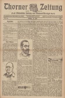 Thorner Zeitung : Ostdeutsche Zeitung und General-Anzeiger. 1907, Nr. 146 (25 Juni) + dod.
