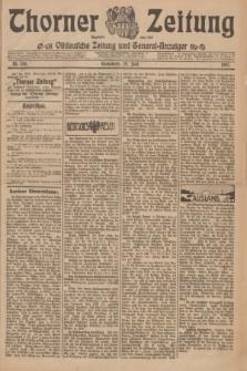 Thorner Zeitung : Ostdeutsche Zeitung und General-Anzeiger. 1907, Nr. 150 (29 Juni) + dod.