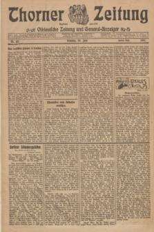 Thorner Zeitung : Ostdeutsche Zeitung und General-Anzeiger. 1907, Nr. 151 (30 Juni) - Zweites Blatt