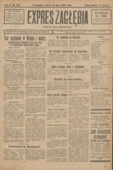 Expres Zagłębia : niezależny organ demokratyczny. R.2, № 165 (19 lipca 1927)