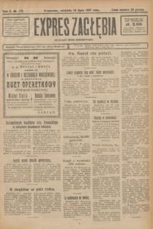Expres Zagłębia : niezależny organ demokratyczny. R.2, № 170 (24 lipca 1927) + dod.