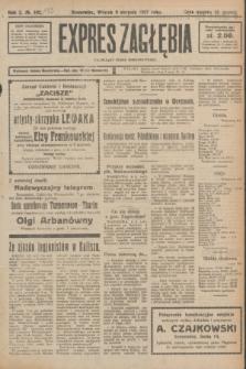 Expres Zagłębia : niezależny organ demokratyczny. R.2, № 183 (9 sierpnia 1927)