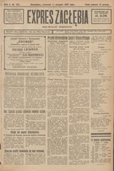 Expres Zagłębia : organ niezależny demokratyczny. R.2, № 185 (11 sierpnia 1927)