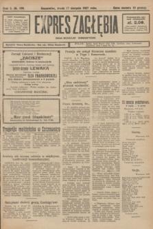 Expres Zagłębia : organ niezależny demokratyczny. R.2, № 189 (17 sierpnia 1927)