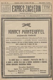 Expres Zagłębia : demokratyczny organ niezależny. R.2, № 191 (19 sierpnia 1927)