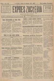 Expres Zagłębia : demokratyczny organ niezależny. R.2, № 192 (20 sierpnia 1927)