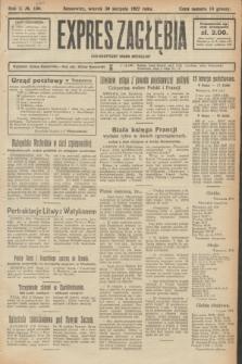 Expres Zagłębia : demokratyczny organ niezależny. R.2, № 200 (30 sierpnia 1927)